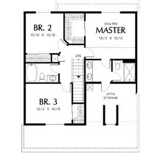 Easy To Build Floor Plans Simple To Build 69179am 2nd Floor Master Suite Cad