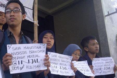 Jual Ginjal mahasiswa ub jual ginjal untuk biaya kuliah