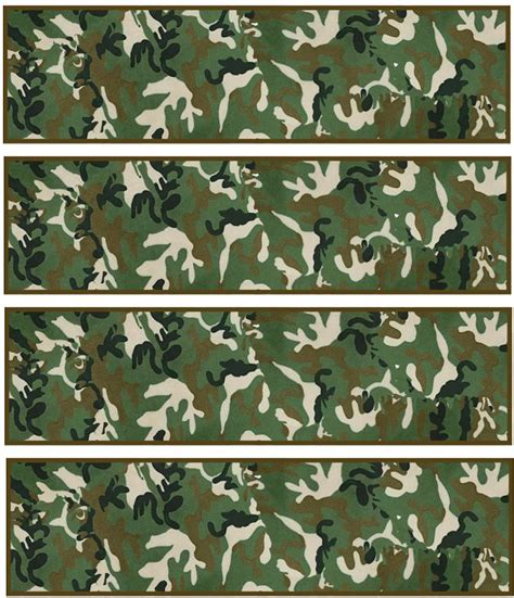 printable army bookmarks 348 best images about camouflage printables on pinterest