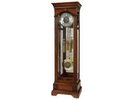 howard miller lanning hampton cherry clock