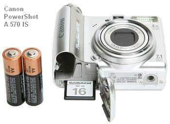 canon a570is on sale for $139.99 « daily bulletin