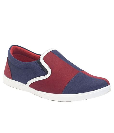 mochi g maroon canvas shoes price in india buy mochi g