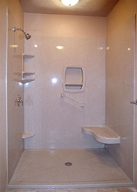 Shower Is Low by Low Profile Replacement Shower Bases Gaining In Popularity