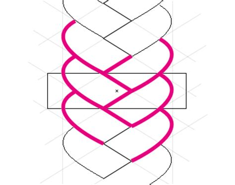 illustrator pattern to outline how to create a hair braid pattern brush in illustrator