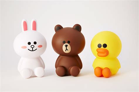 Sally Figure Tipe B line friends brown cony sally character figure soft vinyl coin bank 6 quot 4types ebay