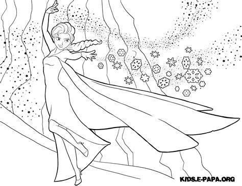 Fargelegging av tegninger Elsa