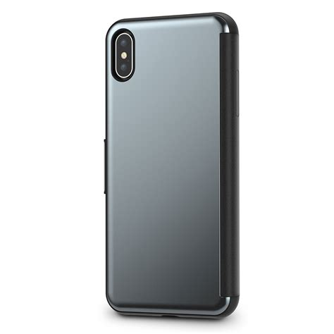 iphone xs max folio shop iphone gra stealthcover by moshi