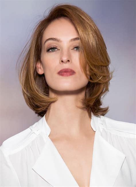 frisuren mittellange haare blond fuer aeltere damen frisur halblang pony top frisuren 2017