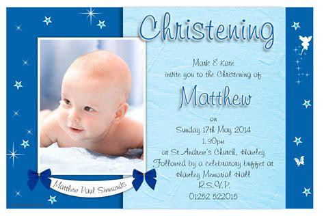 10 personalised boys star sparkle christening baptism