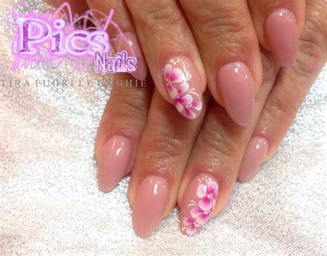 unghie a fiori ricostruzione unghie oristano pics nails