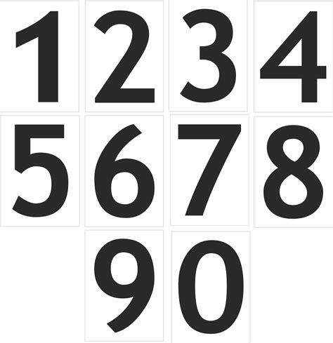 Zahlen Aufkleber Grau by Aufkleber Zahlen Regalbeschriftung