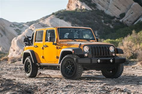 Jeep Willys Edition 2014 Jeep Wrangler Unlimited Willys Wheeler Edition Front