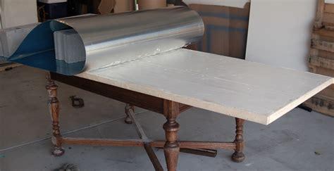Diy Kitchen Table Top Zinc Table Tutorial Elegance