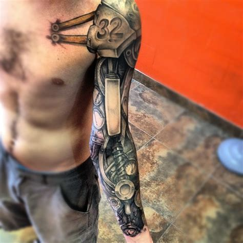 mechanic tattoo design 54 mechanical sleeve tattoos