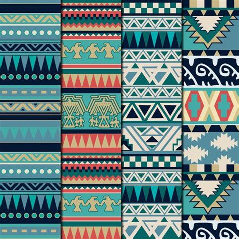 Pattern Aztec best 25 aztec patterns ideas on tribal