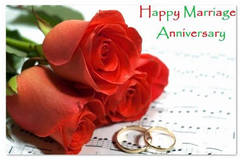 Marriage Anniversary Card To