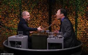 Acceptable Tv Premieres This Tonightget Ready To Laugh Courtesy Of Black And Dig The Exclusive Trailer by Daniel Radcliffe Gets A Soaking From Jimmy Fallon On The