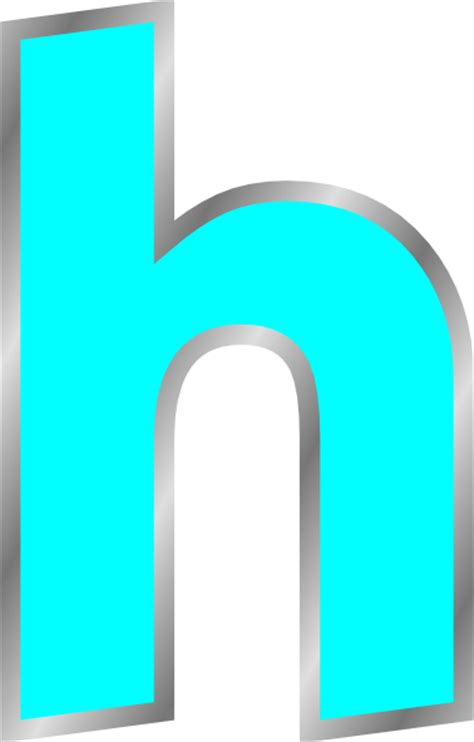 Letter H Clipart letter h clip at clker vector clip