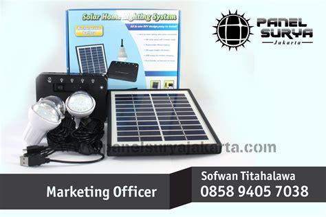 Solar Home System Jb500 harga panel surya murah 3 lu