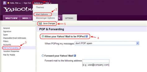 yahoo email time zone how to enable pop3 in the new yahoo mail khimhoe net
