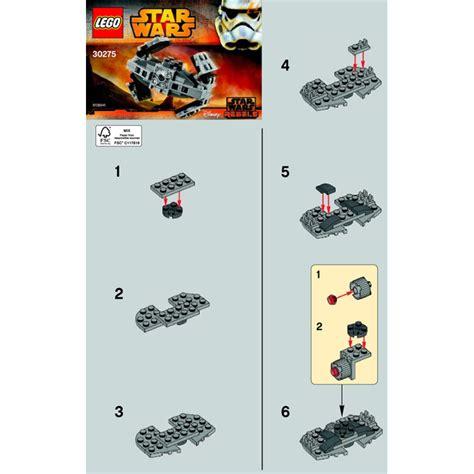 Lego 30275 Tie Advanced Prototype Wars lego tie advanced prototype set 30275 brick