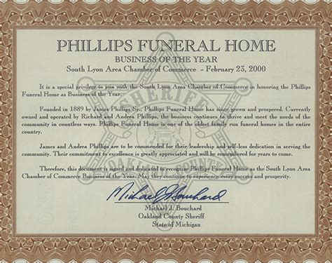 phillips funeral home and cremation services south lyon