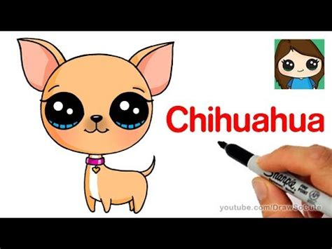 how to a chihuahua how to draw a chihuahua easy