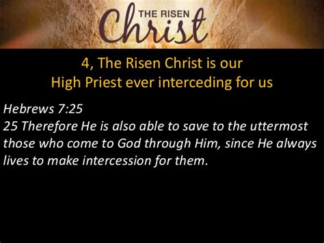 Jesus Saves To The Uttermost The Risen
