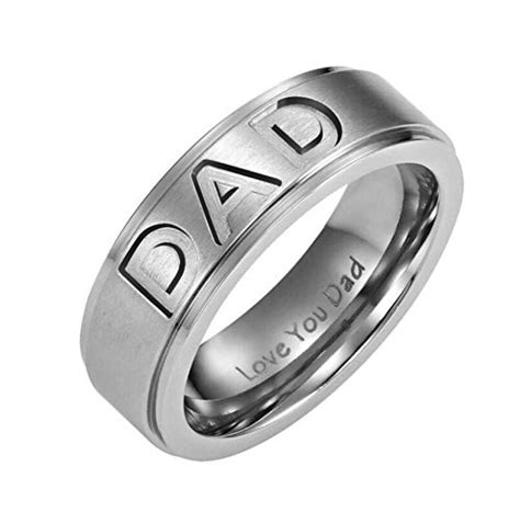 Wardah Ring New You voberry new arrive stainless steel ring engraved you s ring jewelry 8 silver