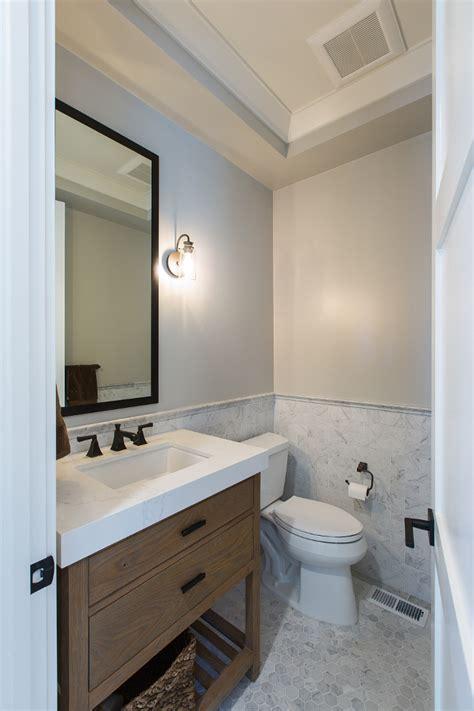 Modern Farmhouse Bathroom by New Construction Modern Farmhouse Design Ideas Home