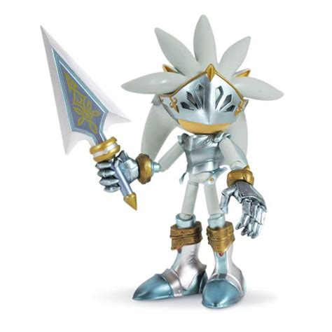 sonic the hedgehog silver sir galahad 5 inch action figure