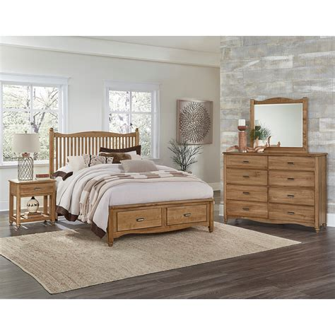 maple furniture bedroom vaughan bassett american maple king bedroom group