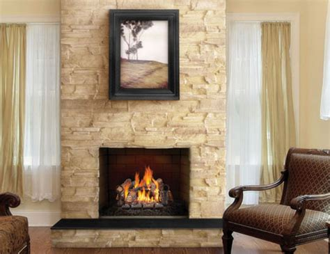 fireplacepro napoleon fiberglow vented gas log sets