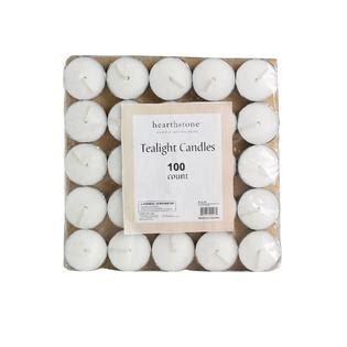 goodlight candles tea lights unscented 100 count ckk tealight candle unscented 100 count