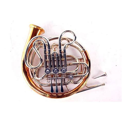 horn section instruments atkinson nr501 erfurt double horn nickel silver