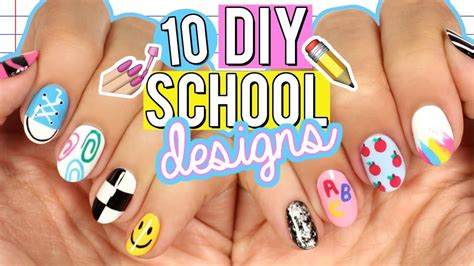 back to school nails the ultimate guide youtube 10 diy back to school nail art designs the ultimate