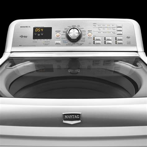 maytag bravos xl maytag mvwb980bw 28 inch top load washer with 4 8 cu ft