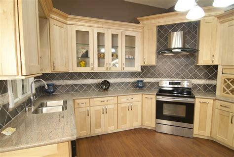 natural oak kitchen cabinets natural wood cabinets home design
