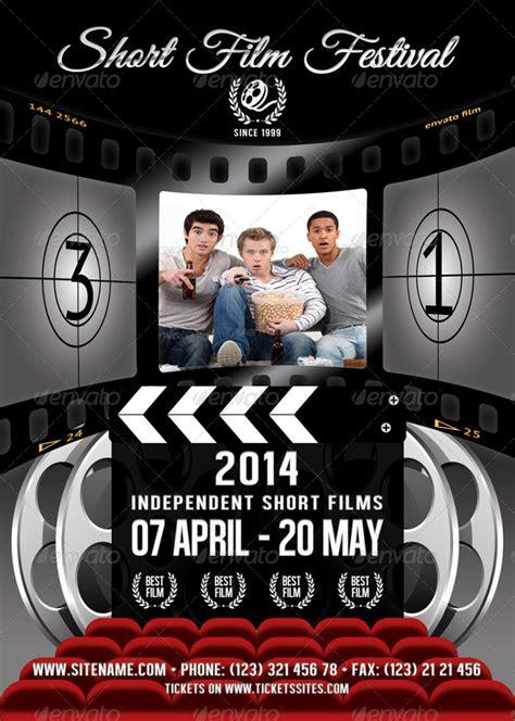 film festival flyer template   min graphicriver