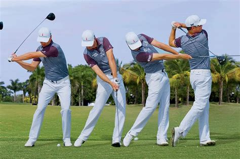 sequence of golf swing swing sequence zac johnson australian golf digest