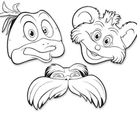 printable lorax mask search results for lorax templates calendar 2015