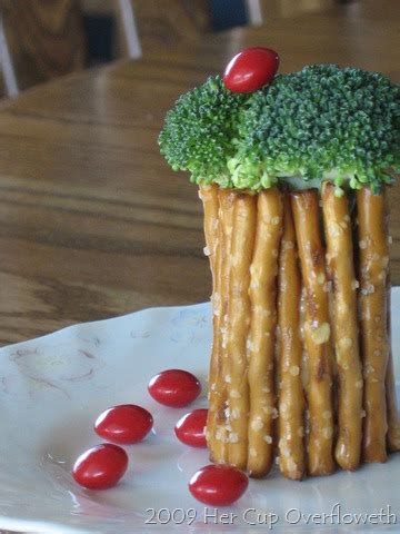 christmas sunday school crafts snacks be brave keep going how to make a pretzel and broccoli apple tree