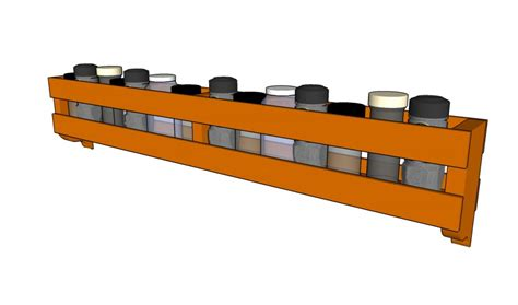 Build A Rack by How To Build A Spice Rack Howtospecialist How To Build