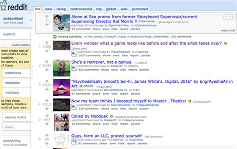 Or Question Reddit On The Front Page Of Reddit Your Questions Answered News Mind The Trap Mod Db