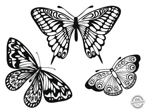 imagenes para pintar mariposas dibujos de mariposas descargables para colorear blog f