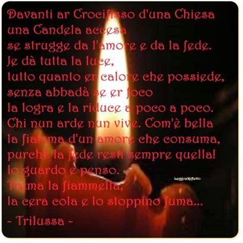 preghiera della candela la candela trilussa leggoerifletto