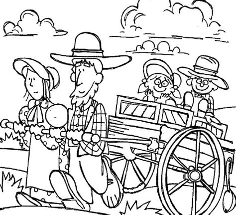 lds coloring pages for adults clipart pioneer family coloring page mormon trail