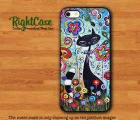 Iphone 5 5s Soft Jacket Lucu Animal Japan Scenery black cat painting iphone 4s animals iphone 5s flower wonderful various iphone 6
