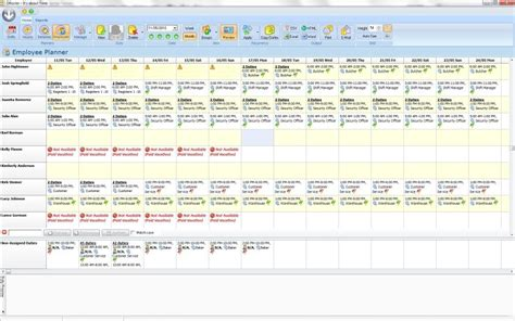 shift availability template freeware employee schedule template mac