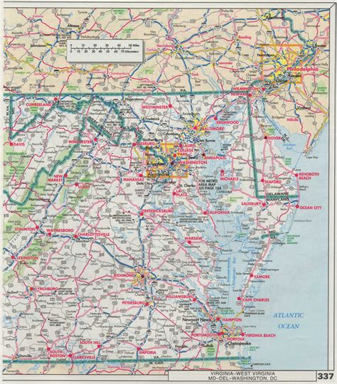 map maryland and west virginia index of maps